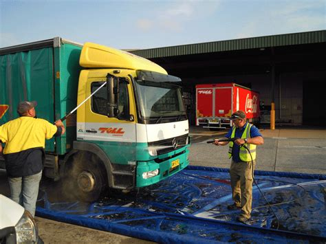 wash mats and mobile washing equipment products
