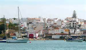sailing alvor anchorage southern spain and portugal