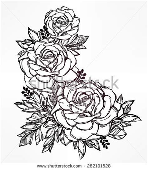detailed rose tattoo designs 25 best ideas about flower designs on