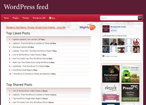 free themes like facebook great facebook like wordpress theme pictures inspiration