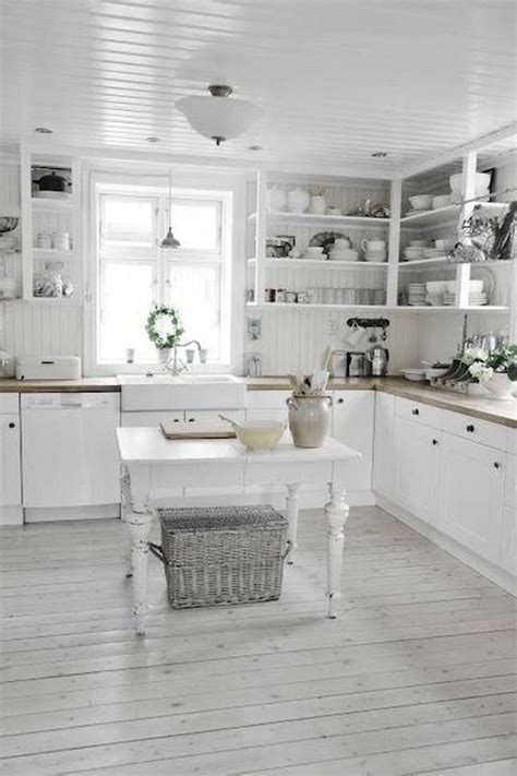 Shabby Chic Kitchen Ideas | 32 sweet shabby chic kitchen decor ideas to try shelterness