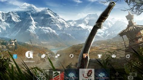 ps4 themes release new far cry 4 playstation 4 theme gets a release