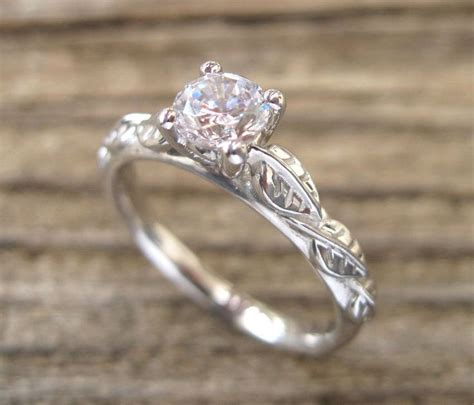 Wedding Rings Leaves by Best 25 Leaf Engagement Ring Ideas On