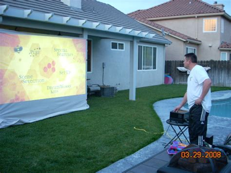 backyard home theater system 187 backyard and yard design