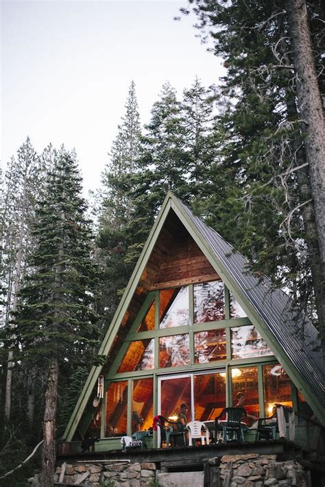 a frame cabin design modern tiny house ideas