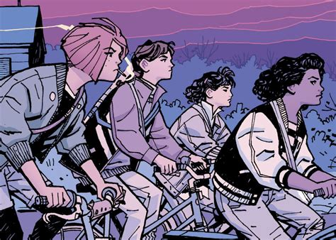 paper girls 06 8416767513 brian k vaughan and cliff chiang s paper girls reviewed