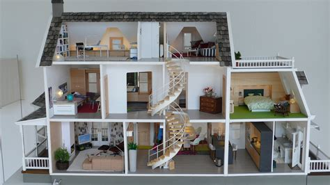 inside a doll house full view of inside marionrussek glenwood dollhouse diary of construction fantastic back