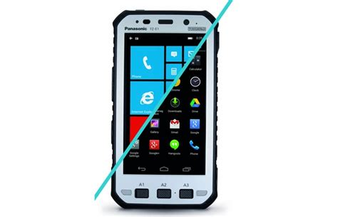 panasonic rugged phone panasonic toughpad fz x1and fz e1rugged smartphone devices launched