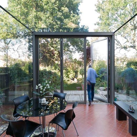 metal garden rooms contemporary glass conservatory garden rooms 18 design ideas housetohome co uk