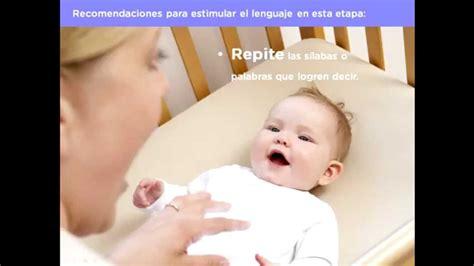 el beb es un desarrollo del lenguaje en beb 233 s de 4 a 6 meses youtube