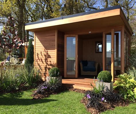 designer summer houses the oxford is a contemporary summerhouse in 5 sizes