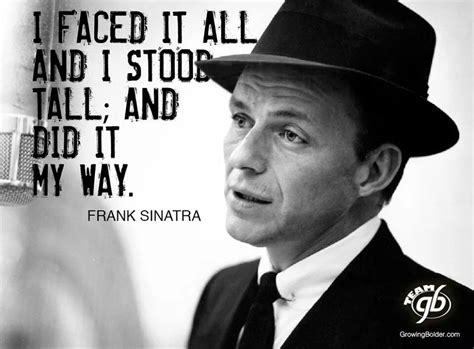 frank sinatra my frank sinatra my way quotes quotesgram