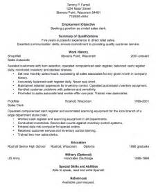 retail sales clerk resume sample resumes design