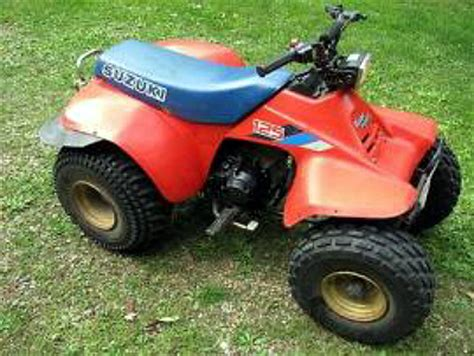 Suzuki Lt 125 Weekly Used Atv Deal School Suzuki Lt125 On The Cheap