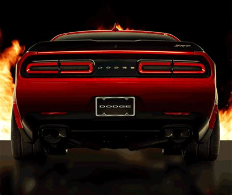 100+ octane race gas mode on dodge challenger srt demon