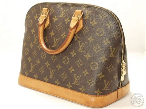 P Da Alma 30x30 370 authentic louis vuitton monogram alma handbag purse 110217