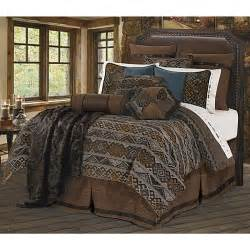 southwestern navajo pattern western bedding set king