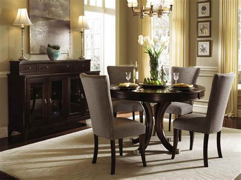 Apartment Dining Room Tables by Dining Room Furniture For Small Room With Brown Round