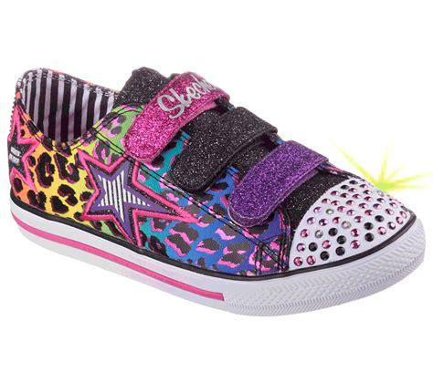 skechers s twinkle toes chit chat prolifics