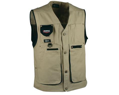 working vest cofra zurich canvas work vest v055 mammothworkwear