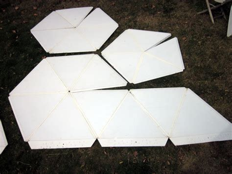 How To Make A Paper Dome Step By Step - folding geodesic dome