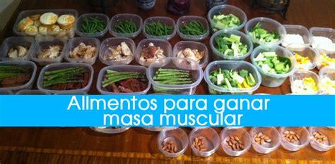 alimentos para subir masa muscular los 20 mejores alimentos para aumentar masa muscular