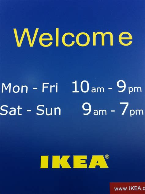 Ikea Hours | ikea hours on sunday