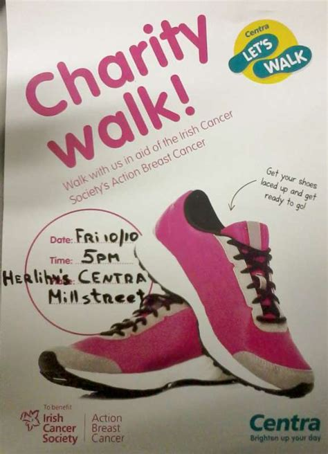 by walking and fundraising in the american cancer society making charity fundraising millstreet ie