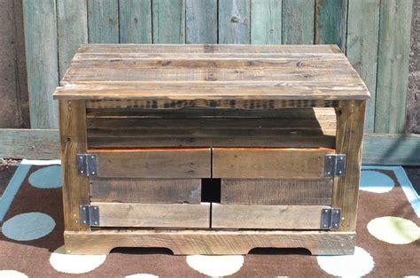 custom pallet wood entertainment center  tim sway