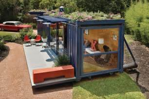 shipping containers become designer homes living spaces
