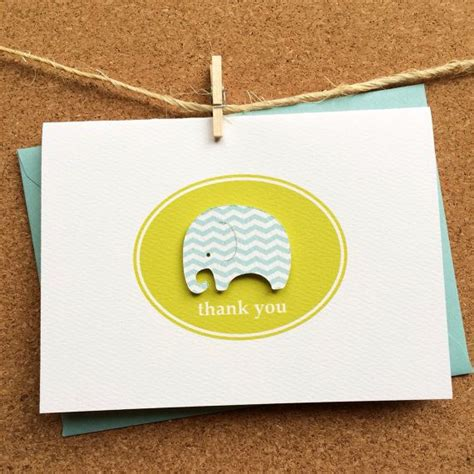 Handmade Baby Thank You Cards - handmade baby thank you notes cards pool by