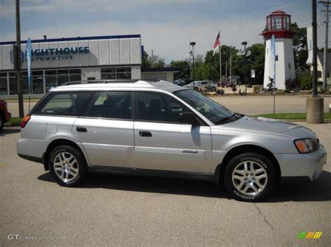 silver subaru outback 2004 silver metallic subaru outback wagon 30214484