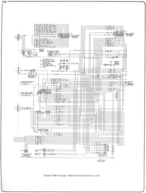 complete 73 in 78 chevy truck wiring diagram for wiring