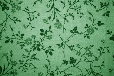wallpaper green print green floral print fabric texture picture free