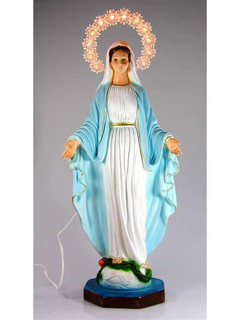 madonna illuminata medjugorje statua madonna miracolosa spedizione gratis