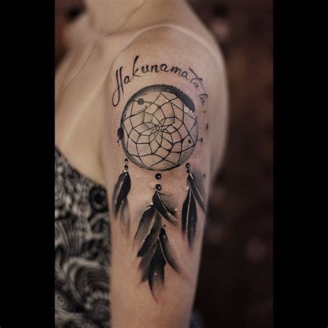 dreamcatcher shoulder tattoo 37 graceful catcher shoulder tattoos