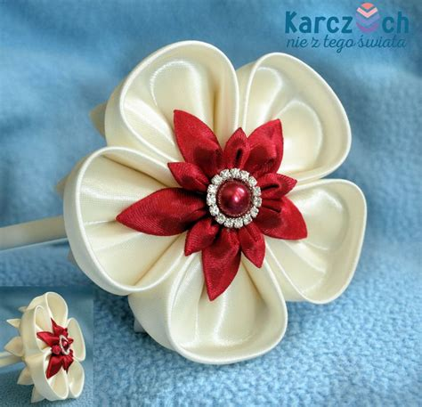 imagenes de flores kanzashi m 225 s de 1000 im 225 genes sobre kanzashi en pinterest flores