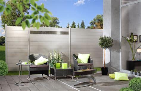 sichtschutz terrasse modern grimm marre aluminium sichtschutz
