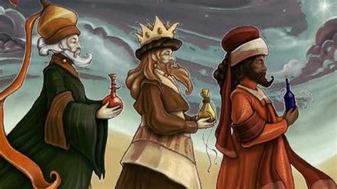 fotos de reyes magos reales queridos reyes magos
