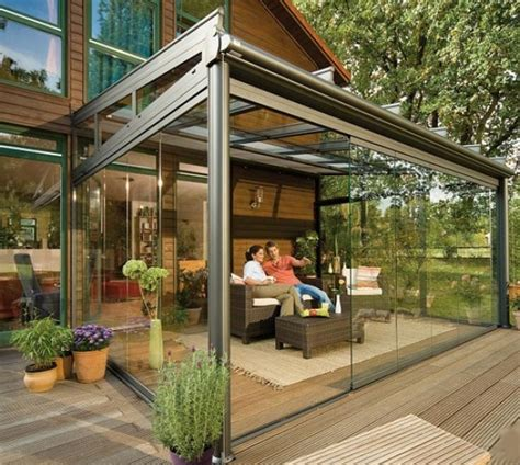 Backyard Sunroom by How To Maximize Your Interior Views With Outdoor