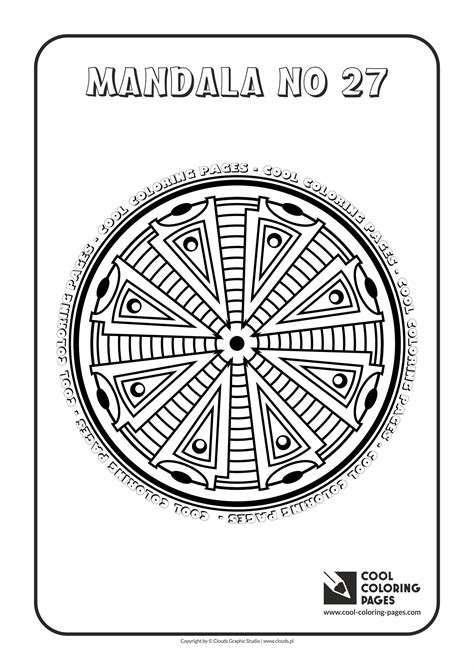 Cool Coloring Pages For by Cool Coloring Pages Mandalas Cool Coloring Pages Free