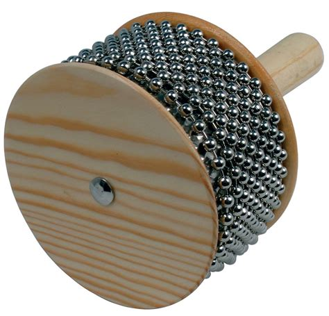 beaded sound atlas beaded cabasa wooden percussion with metal