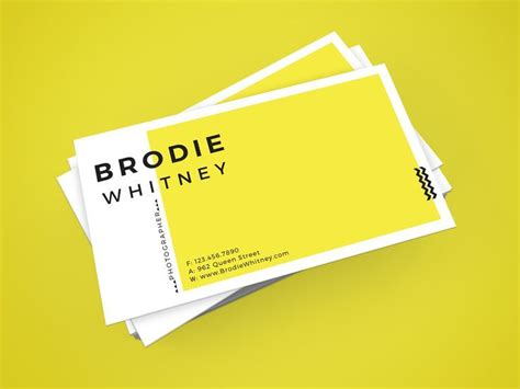 make visiting cards 25 best ideas about business card design on
