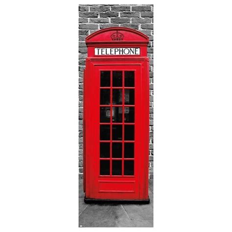 cabina telefono poster puerta londres cabina tel 233 fono nosoloposters