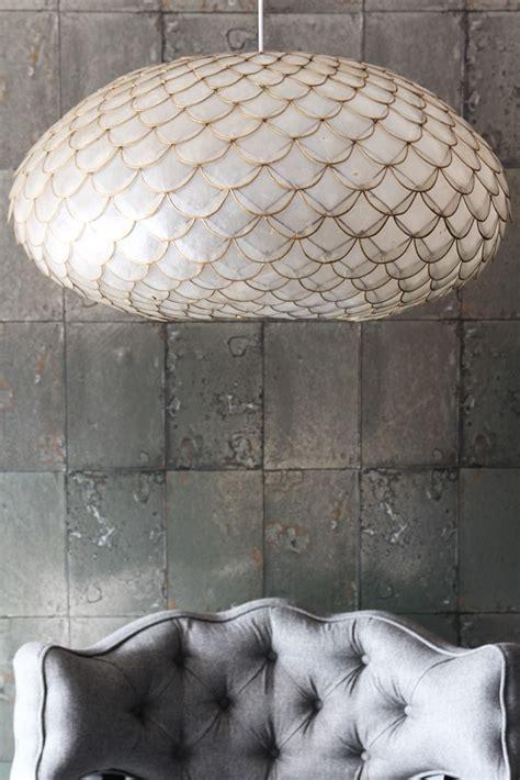 Capiz Shell Ceiling Light Capiz Shell Ceiling Light From Rockett St George
