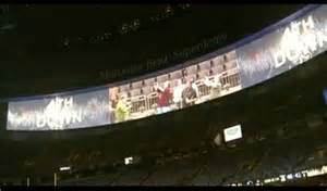 Smg Mercedes Superdome New Hd End Zone Screens At Mercedes Superdome