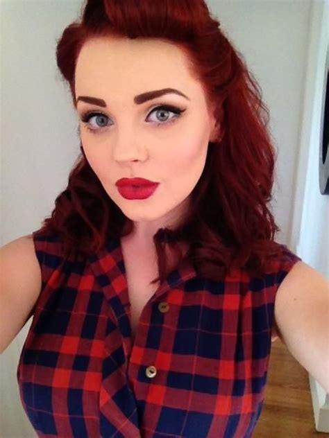 Fresh Rockabilly Look:: Pin Up Girl Make up:: Rockabilly