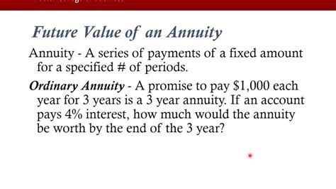 Time Value Of Money Notes For Mba by Time Value Of Money Mba With Problems Solutions And
