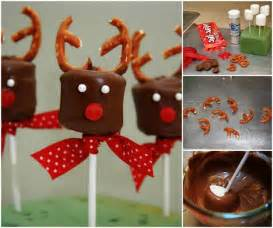 Upcycled Christmas Crafts - wonderful diy chocolate marshmallow reindeers