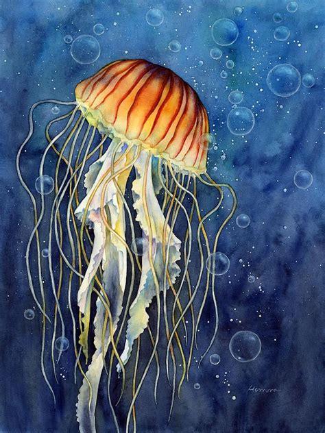 acrylic painting jellyfish best 25 jellyfish painting ideas on jellyfish